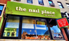 the nail place logo